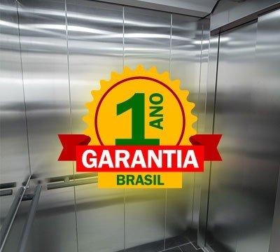 GARANTIA DOS NOSSOS ELEVADORES